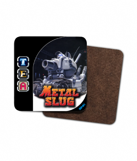 Retro Gaming Metal Slug Weapons Capsule Tea Single Coaster
